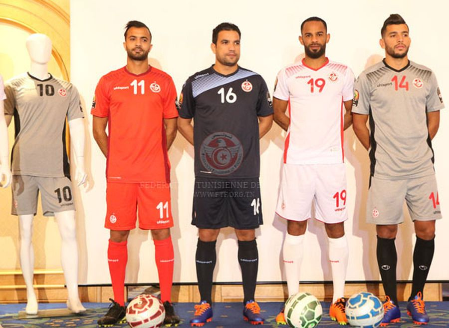Nouveau maillot Tunisie CAN 2017 Uhlsport