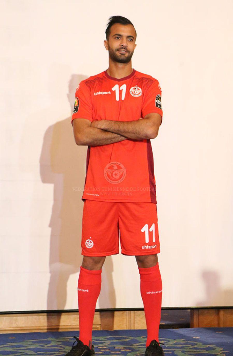 Maillot extérieur Uhlsport Tunisie CAN 2017