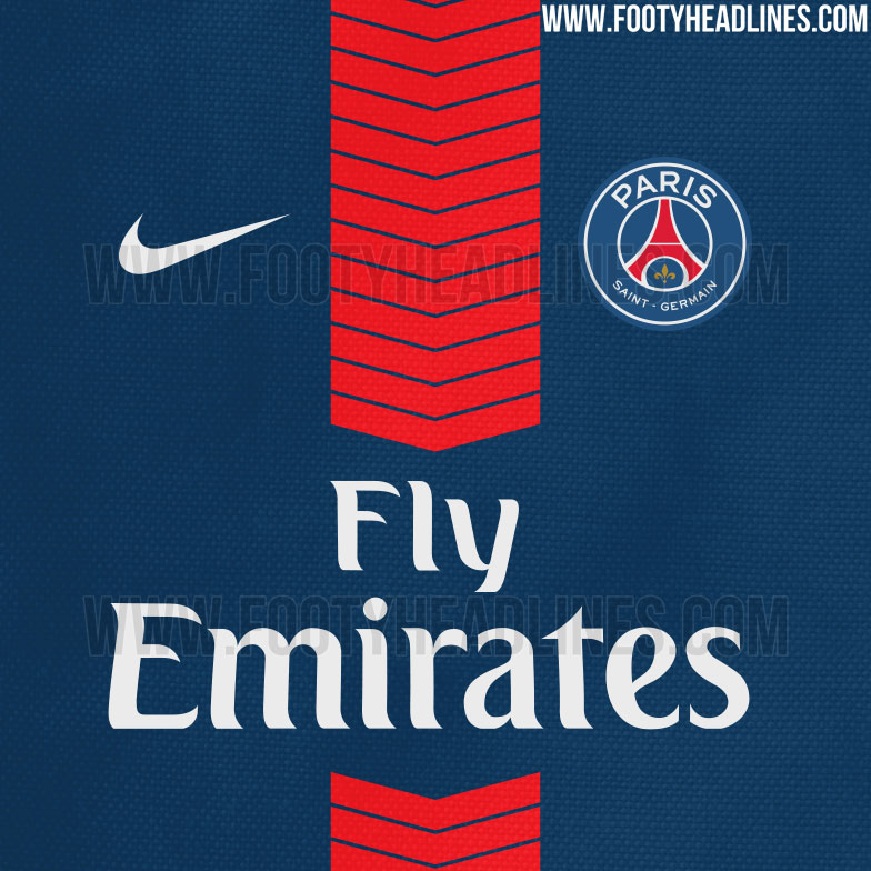 Le prochain maillot domicile du Paris Saint-Germain ?