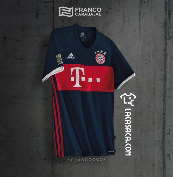 Le futur maillot extérieur du Bayern Munich ?