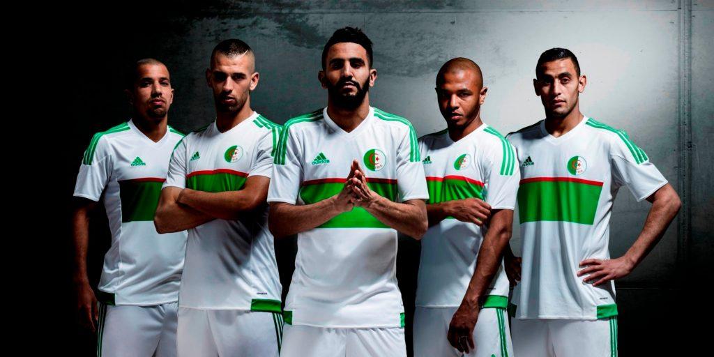 Le maillot de l'Algérie pour la CAN 2017
