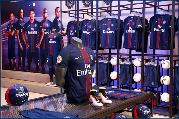 Boutique officielle du PSG