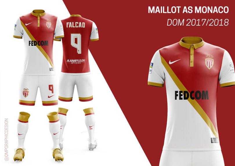 Le maillot domicile de l'ASM 2017-2018 version Quentin Martins Pereira