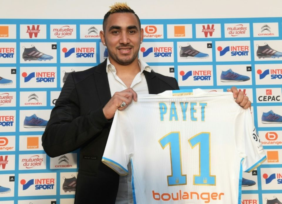 Payet et son maillot
